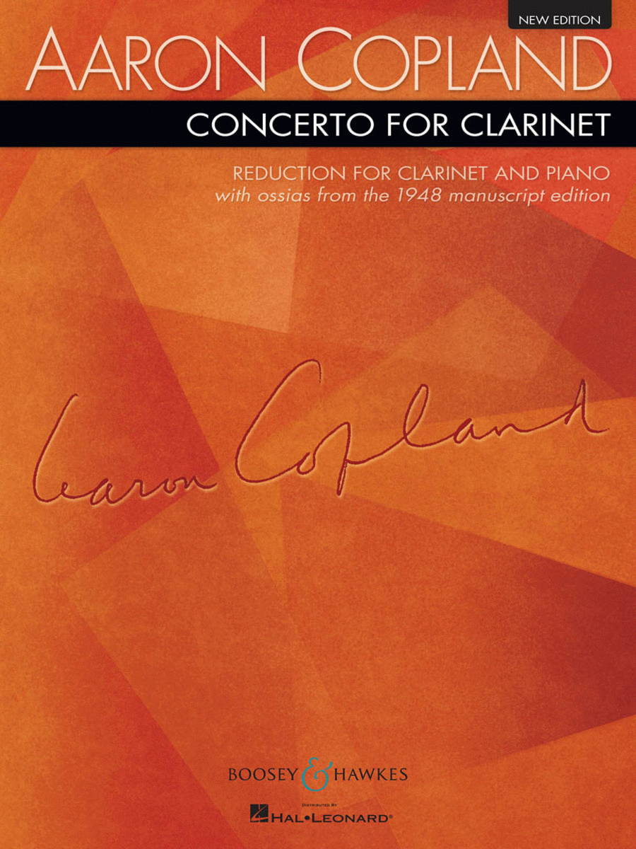Concerto for Clarinet and String Orchestra with harp and piano