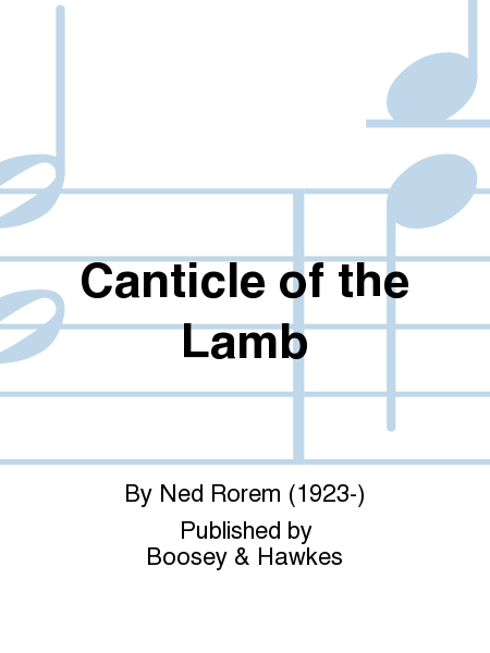 Canticle of the Lamb