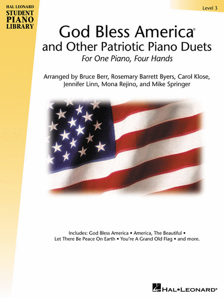 God Bless America and Other Patriotic Piano Duets - Level 3