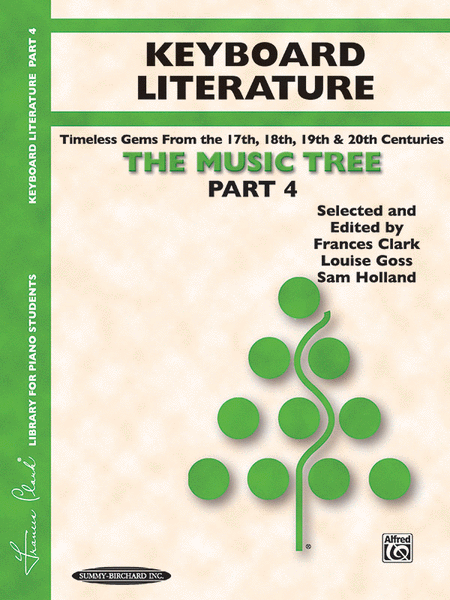 The Music Tree - Part 4 (Keyboard Literature)