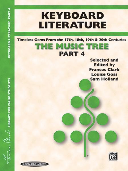 The Music Tree - Part 4 (Keyboard Literature)