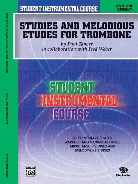 Student Instrumental Course Studies and Melodious Etudes for Trombone