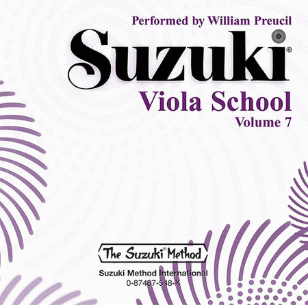 Suzuki Viola School, Volume 7