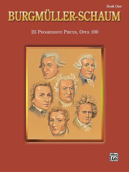 Burgmuller-Schaum, Book 1