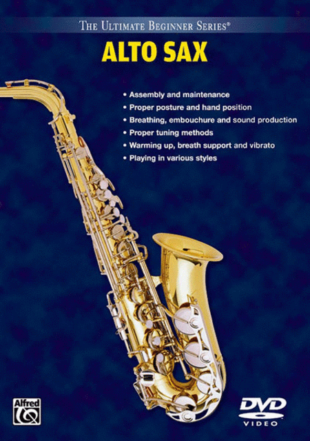 Ultimate Beginner Series - Alto Sax (dvd)