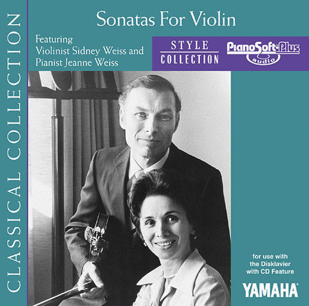 Sonatas for Violin - Piano Software