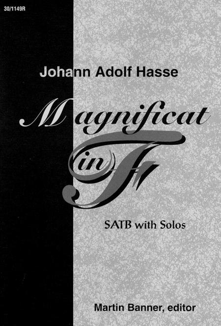 Magnificat in F - Choral Score