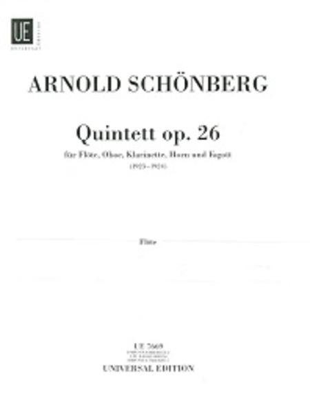 Wind Quintet, Op. 26