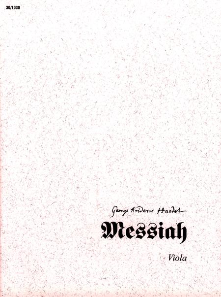 Messiah - Viola