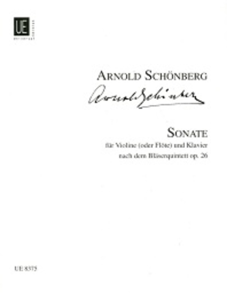 Sonata for Violin or Flute and Piano, Op. 26