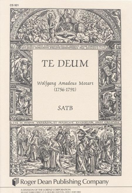 Te Deum - Choral Score