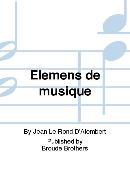 Elemens de musique