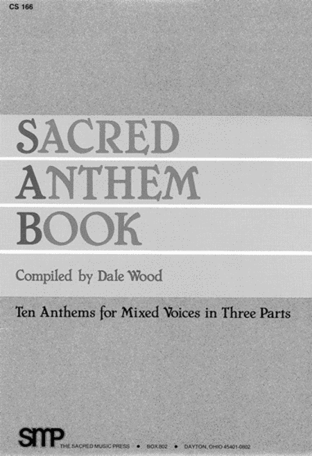 Sacred Anthem Book