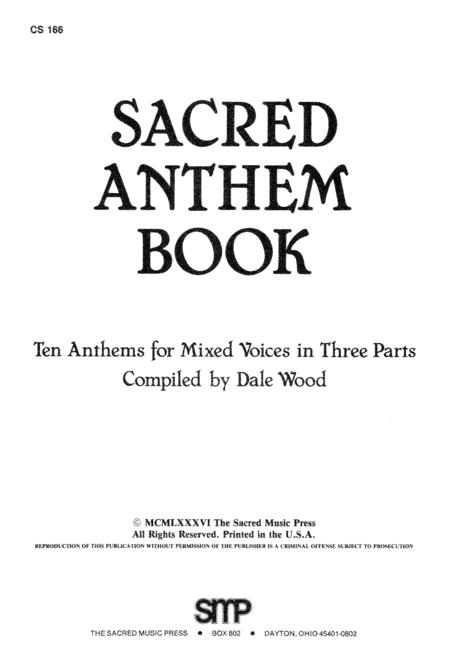 Sacred Anthem Book