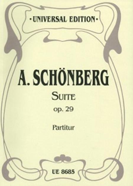 Suite, Op. 29