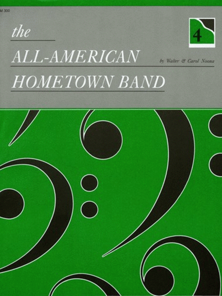 The All-American Hometown Band - 4-hand duet