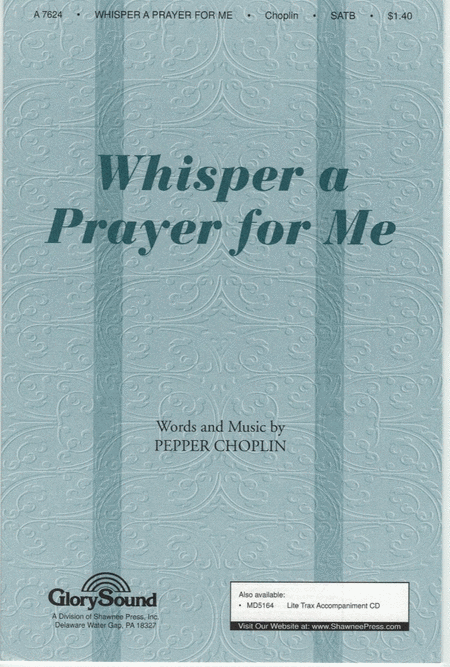 Whisper a Prayer for Me