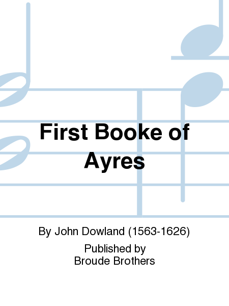 First Booke of Ayres