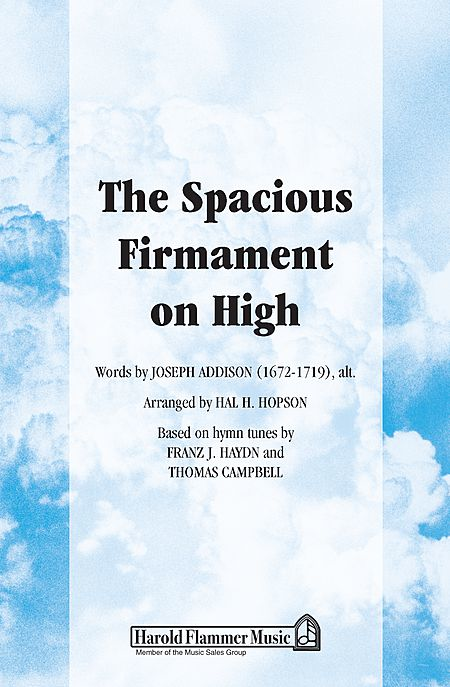 The Spacious Firmament on High
