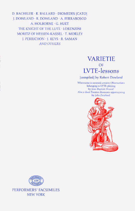 Varietie of Lute Lessons