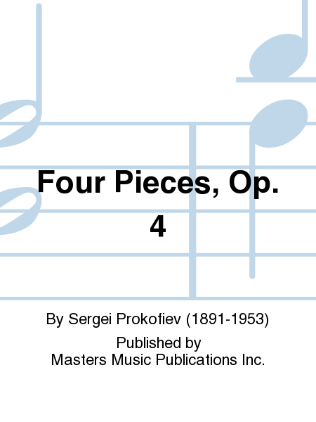Four Pieces, Op. 4