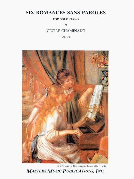Six Romances sans Paroles, Op. 76