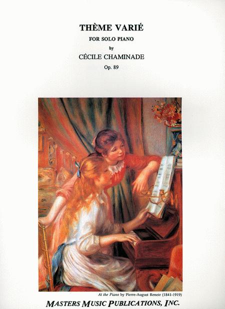 Theme Varie, Op. 89