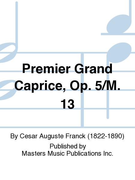 Premier Grand Caprice, Op. 5/M. 13