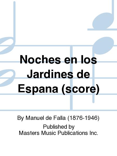 Noches en los Jardines de Espana (score)