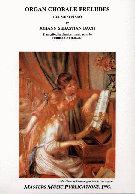 Organ Chorale-Preludes