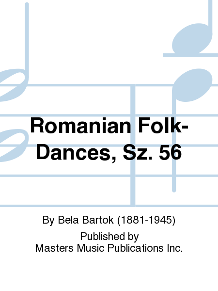 Romanian Folk-Dances, Sz. 56