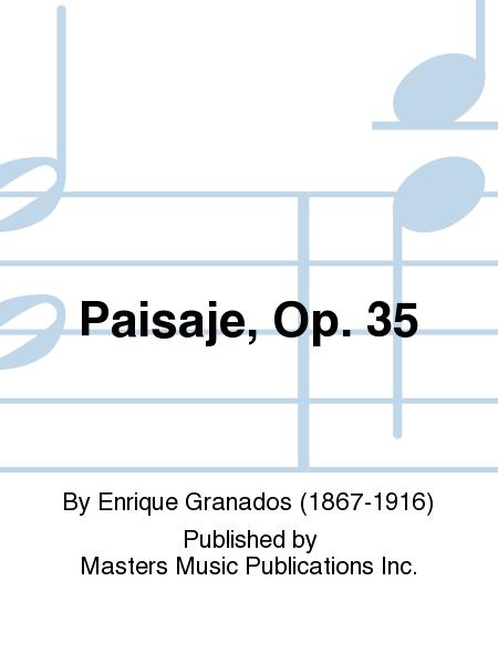 Paisaje, Op. 35
