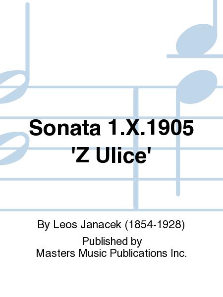 Sonata 1.X.1905 'Z Ulice'