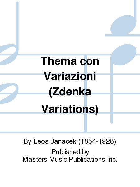 Thema con Variazioni (Zdenka Variations)