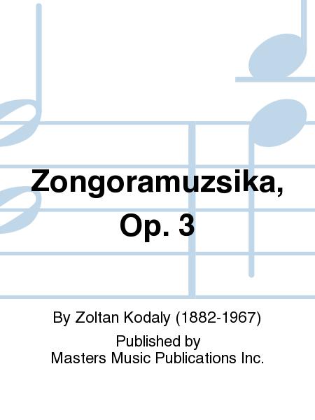 Zongoramuzsika, Op. 3