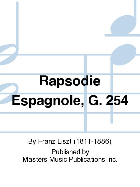 Rapsodie Espagnole, G. 254