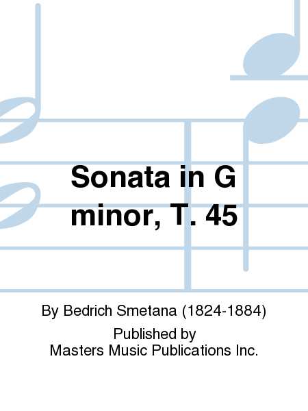 Sonata in G minor, T. 45