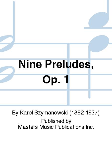Nine Preludes, Op. 1
