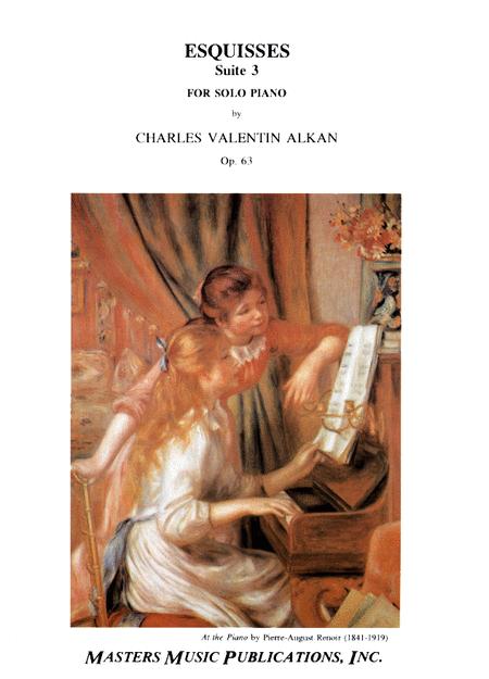 Esquisses, Op. 63; Troisieme Suite