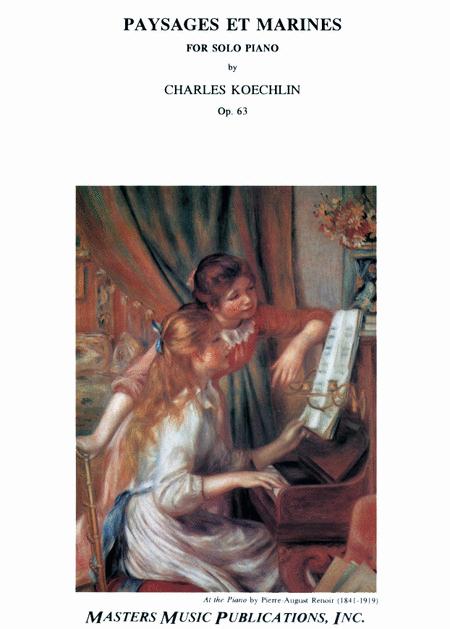 Paysages et Marines, Op. 63