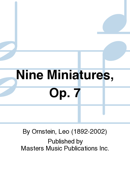 Nine Miniatures, Op. 7