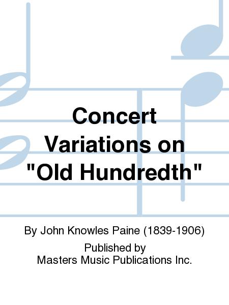 Concert Variations on