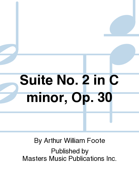 Suite No. 2 in C minor, Op. 30