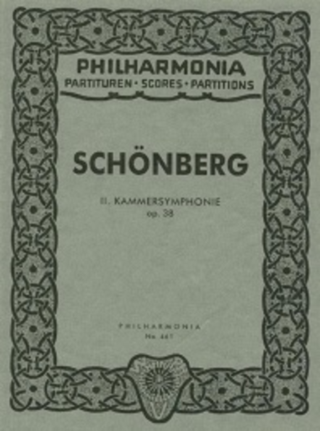 Second Chamber Symphony, Op. 38
