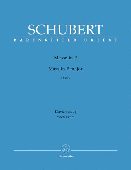 Missa F major D 105