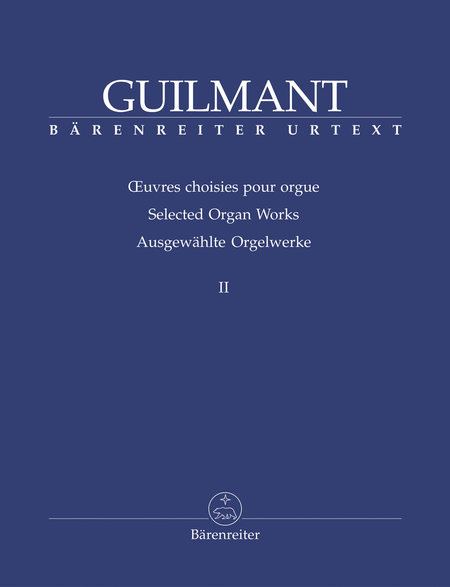 Selected Organ Works, Volume 2 - Sonatas 5-8