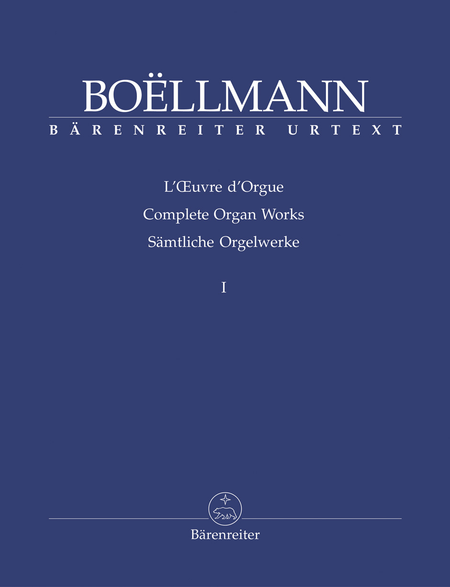 Complete Organ Works, Volume 1
