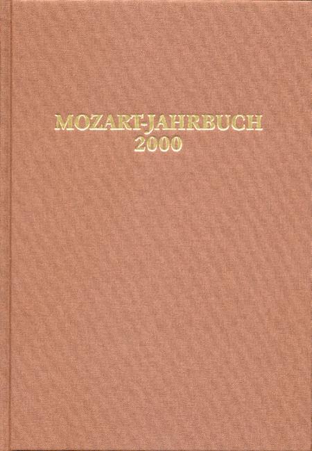 Mozart-Jahrbuch 2000
