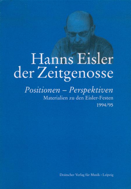 Hanns Eisler-Der Zeitgenosse