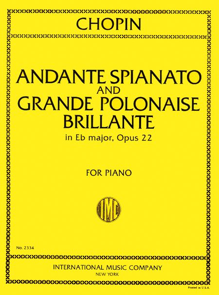 Andante Spianato in G major and Grande Polonaise Brilliante in E flat major, Opus 22